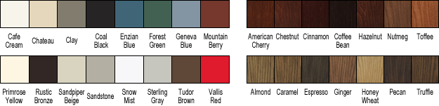 Entry Door Paint Swatches