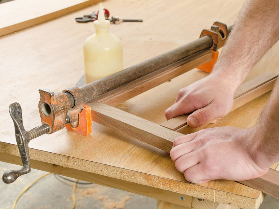 cabinet making process
