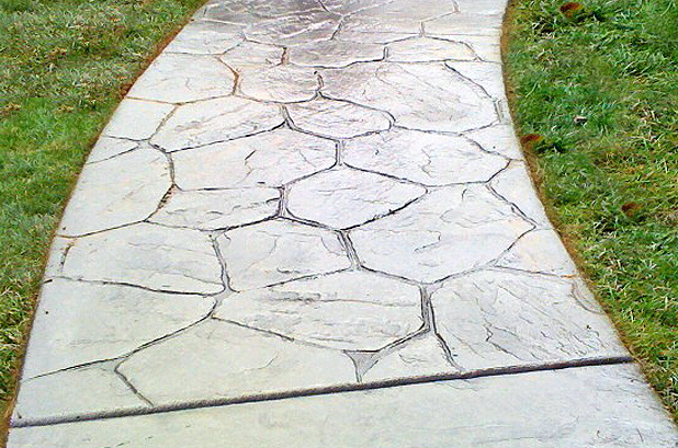 Concrete Path Texture