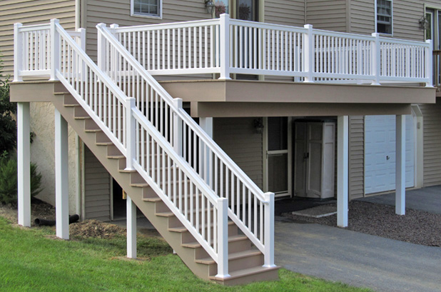 Backyard Railing