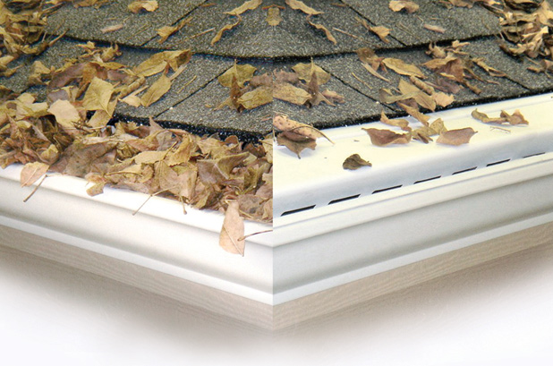 Gutter Protection Before and After