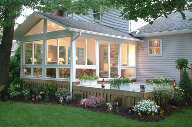 Sunroom additions lancaster pa four season rooms for 4 season sunroom