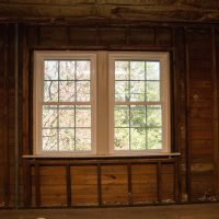 replacement windows in unfinished room