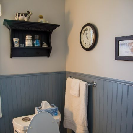 bathroom remodel wall paneling