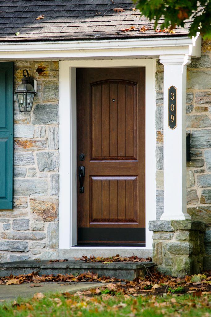 new entry door