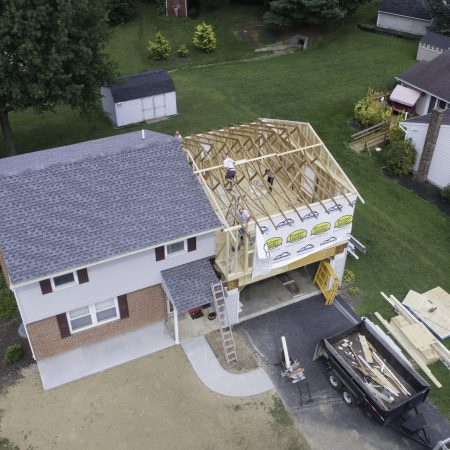 second level home addition
