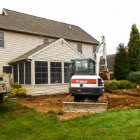 preparing foundation for home addition