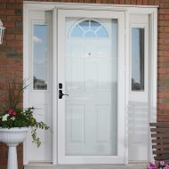 entry door and storm door installation
