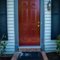new red replacement door