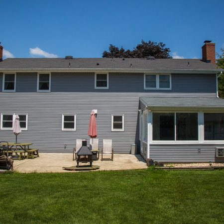home addition and vinyl siding