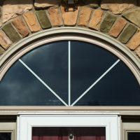 replacement windows around entry door