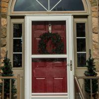 replacement windows around door