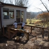building out deck addition
