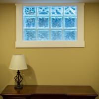replacement window in finished basement