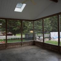 outdated patio enclosure
