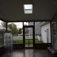 patio enclosure before
