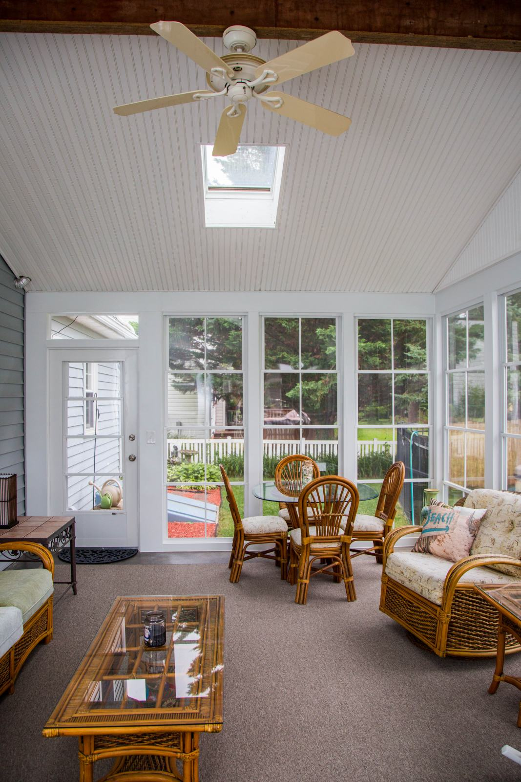 Kitchen With Sunroom Addition