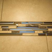 detail of custom tile