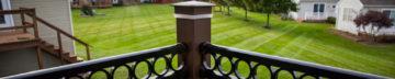 detail or corner railing