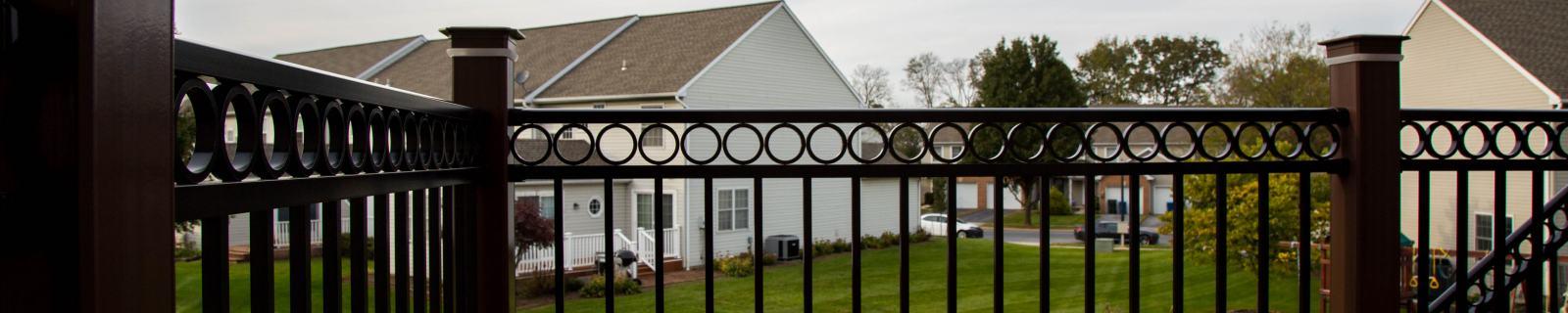 new deck vinyl railings