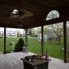 before picture of open patio