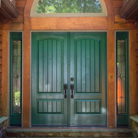 exterior of replacement doors