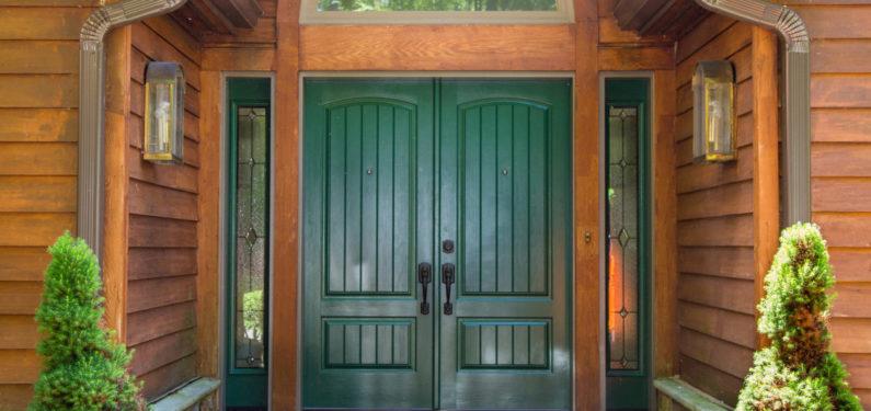 exterior of new doors