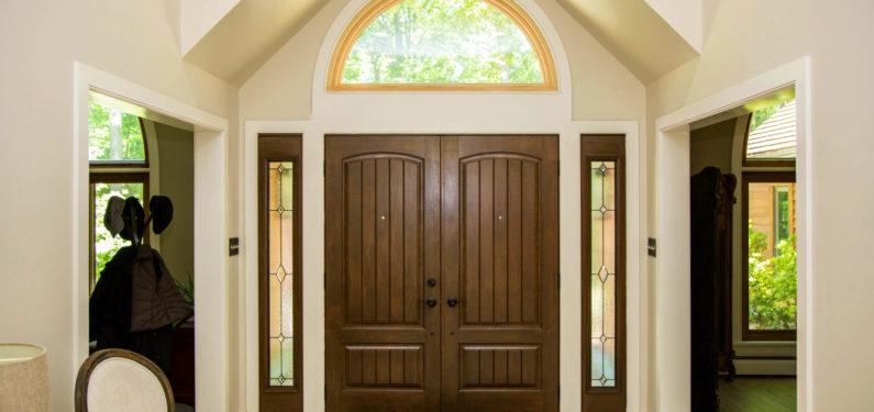 after replacing doors