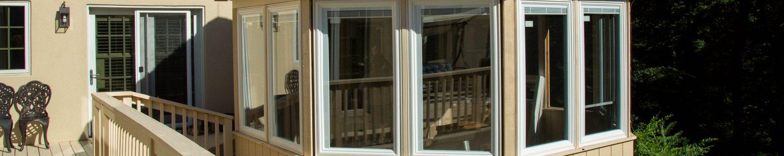replacement windows in patio enclosure