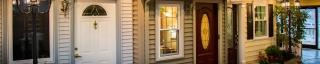 windows, doors, and siding in showroom