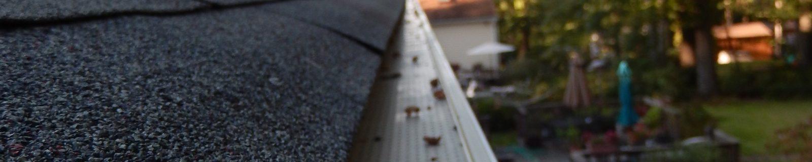 gutter guard leaf relief