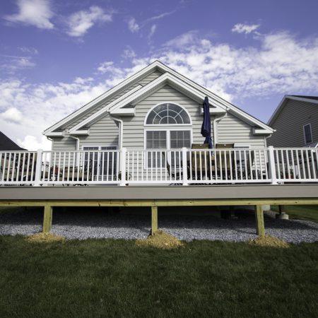 vinyl deck and railings