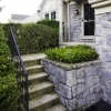 concrete steps before