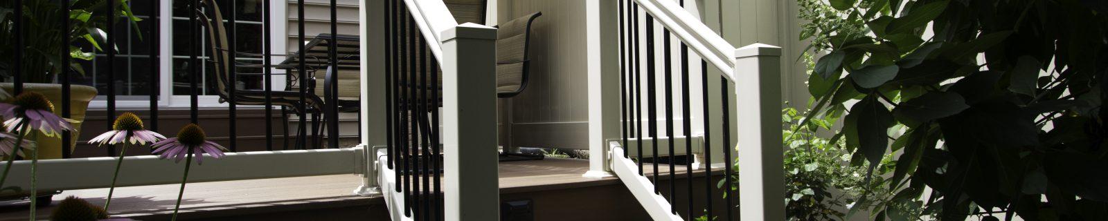 vinyl railings