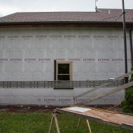 siding and capping installation