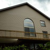 siding and capping