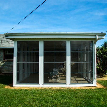 vertical 4-track room patio enclosure