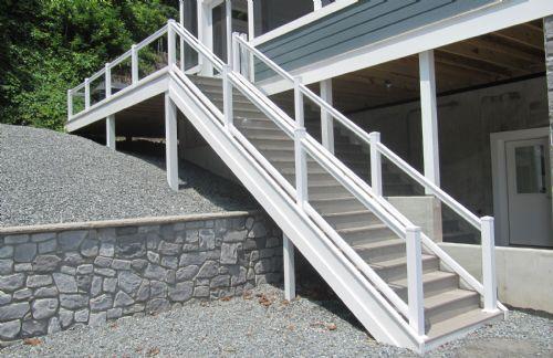 Vinyl Railings For Decks Porches Amp Walkways Zephyr Thomas
