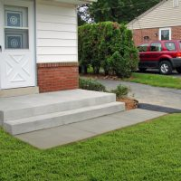 new concrete deck
