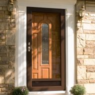 deluxe storm door installation