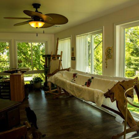 interior of home addition
