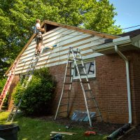 windows and gable replacement