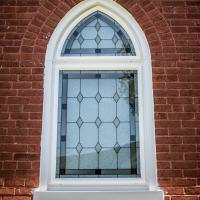 new window in a church