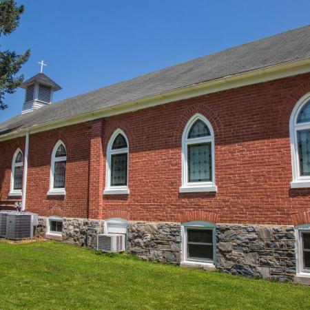 new windows in church