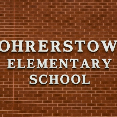siding repairs on rohrerstown elementary school