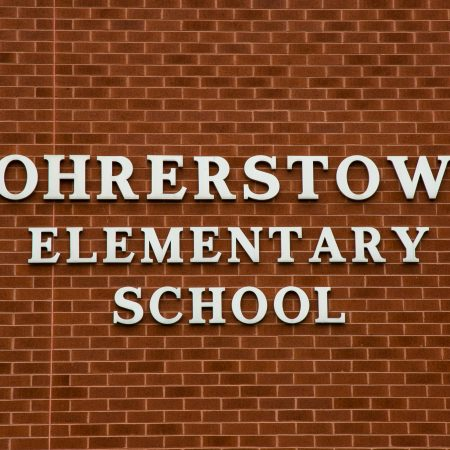 siding repairs on rohrerstown elementary school