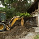 replacing retaining wall