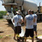 pole barn concrete pour